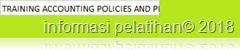 training Accounting Policies and Procedure Manual murah