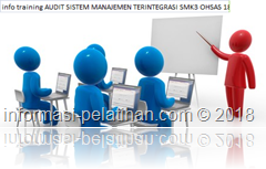 info training pengelolaan program audit kompetensi dan evaluasi auditor