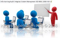 info training keterampilan merencanakan audit integrasi sistem manajemen mutu