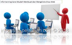 info training membangun kemampuan membuat dan memelihara sebuah situs perusahaan