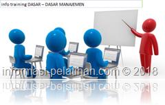 info training onsep-konsep manajemen secara umum