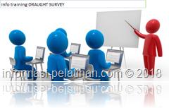 info training perhitungan muatan kapal dengan draught survey