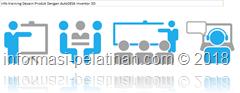 info training langkah penggunaan software autodesk inventor 3d