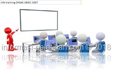 info training Konsep dasar OHSAS 18001