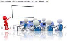 info training Proses transaksi ekspor impor