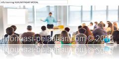 info training aspek-aspek hukum pasar modal