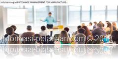 info training Basic Maintenance