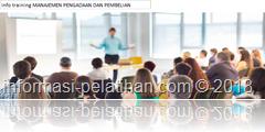 info training Strategi pembelian dan pengadaan