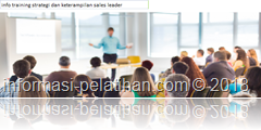 info training SALES LEADERSHIP AND COACHING TO BOOST THE SALES