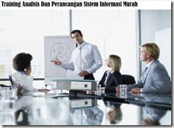 training konsep analisis dan perancangan sistem murah