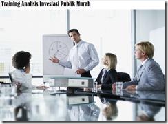 training proses untuk menganalisis proyek-proyek murah