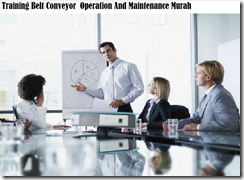 training maintenance of belt conveyor murah