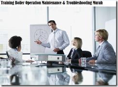 training maintenance and management of boiler plants murah