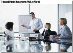 training basic of time management workshop murah