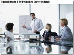 training melakukan perancangan desain belt conveyor murah