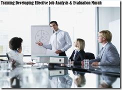 training menyusun job analysis & job evaluation secara tepat murah