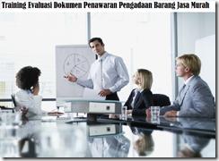 training ketentuan dan pedoman dalam pelaksanaan evaluasi murah
