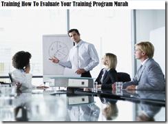 training konsep evaluasi training program murah