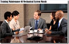 training pemeliharaan sistem mekanikal murah