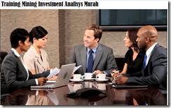 training proses analisis investasi tambang murah