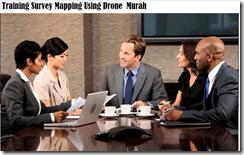 training pemetaan menggunakan drone murah