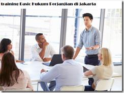 pelatihan Basic Hukum Perjanjian bisnis di jakarta