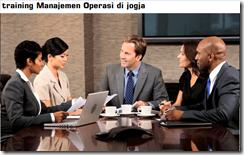 pelatihan Manajemen Operasi dan Produksi di jogja
