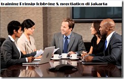 pelatihan Lobbying & Negotiation Skills for Managers di jakarta