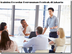 pelatihan Contract Drafting Contract Management and Legal Aspect di jakarta