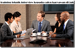 pelatihan behavior event interview techniqu di jakarta
