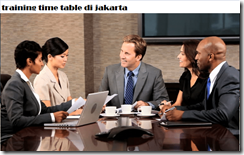 pelatihan boosting your sales through creative sales management and time table di jakarta