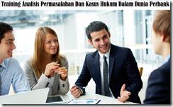 training analisis permasalahan perbankan murah