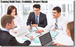 training menumbuhkan kredibilitas, kepercayaan, dan respect murah