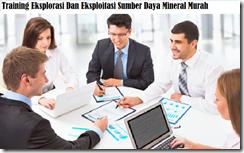 training konsep eksplorasi dan eksploitasi sumber daya mineral murah