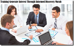 training konsep generate interest through informed discovery murah