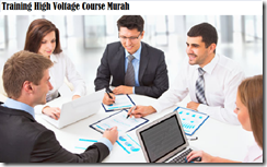 training operating a range of high voltage equipment including murah