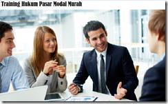 training aspek-aspek hukum pasar modal murah
