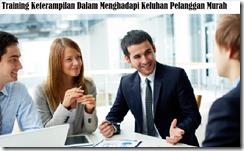 training handling customer complain technique for customer murah