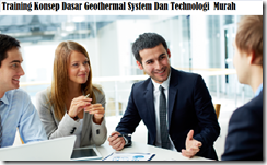 training introduction geothermal system and technology murah