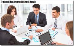 training konsep manajemen efisiensi murah