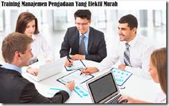 training effective procurement management murah