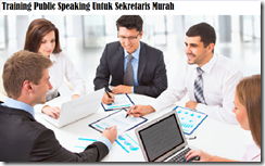training public speaking for secretary murah
