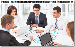 training information technology for decision making murah