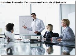 pelatihan Contract Drafting Contract Management and Legal Aspect di jakarta