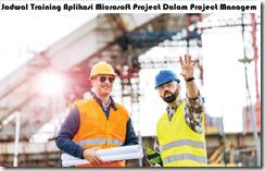 jadwal training pengelolaan proyek dengan aplikasi microsoft project