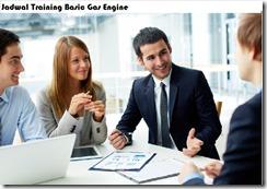 jadwal training gas engine