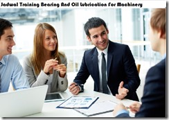 jadwal training bearing and oil lubrication